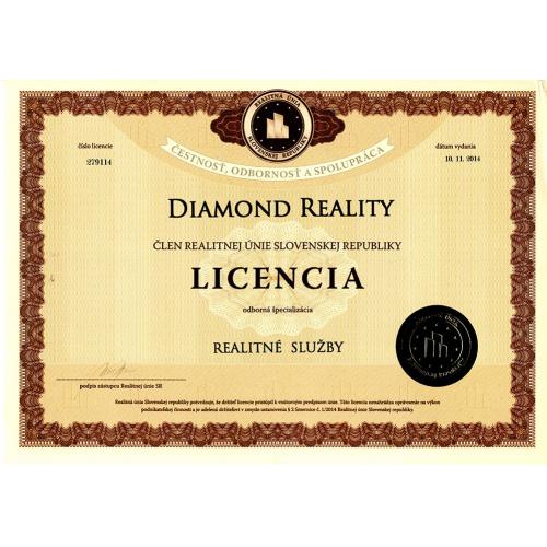 Licencia - Realitné služby